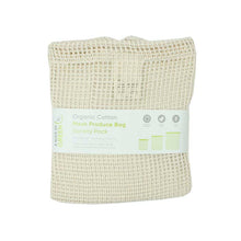 Load image into Gallery viewer, Organic Cotton Mesh Produce Bag (Set of 3) - A Slice of Green