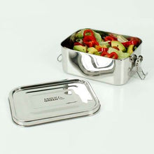 Load image into Gallery viewer, A Slice of Green Stainless Steel Leak Resistant Lunch box Doda