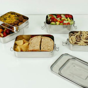 A Slice of Green Stainless Steel Lunch Box Selection
