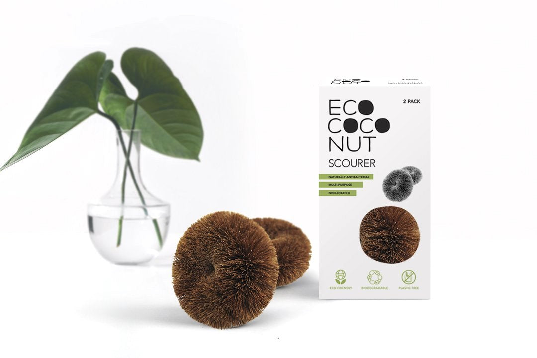 EcoCoconut Scourer - pack of 2