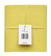 Load image into Gallery viewer, Eco Living Compostable Sponge Cleaning Cloths (4 pack)