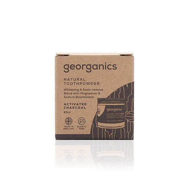 Georganics Activated Charcoal Toothpowder 60ml