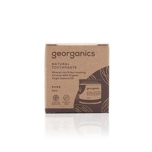 Georganics Pure Natural Toothpaste 60ml