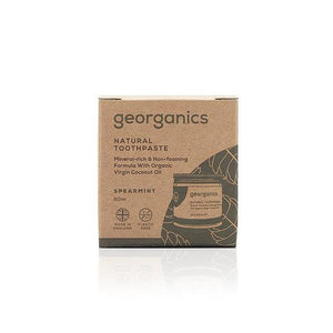 Spearmint Natural Toothpaste 60ml - Georganics