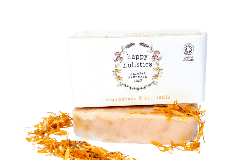 Lemongrass and Calendula Soap 100g - Happy Holistics