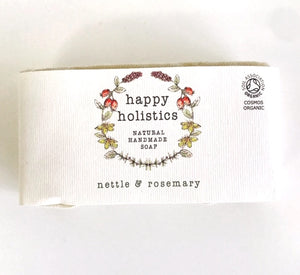 Happy Holistics Rosemary and Nettle Soap 100g