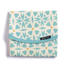 Load image into Gallery viewer, Keep Leaf Geo Print Reusable Cotton Sandwich & Food Wrap