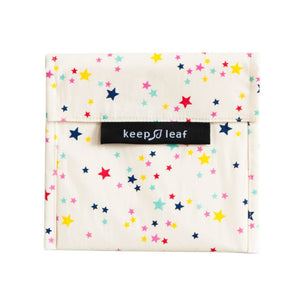 Keep Leaf Stars Print Large Snack Bag