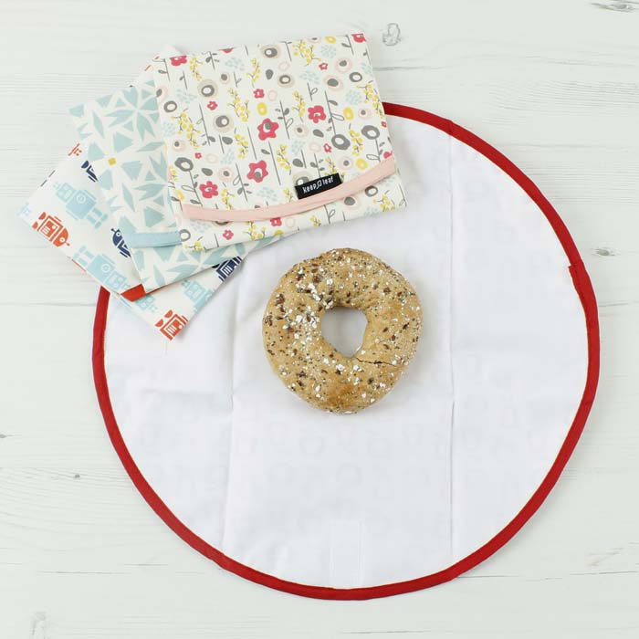 Keep Leaf Bloom Flowers Print Reusable Cotton Sandwich & Food Wrap Selection