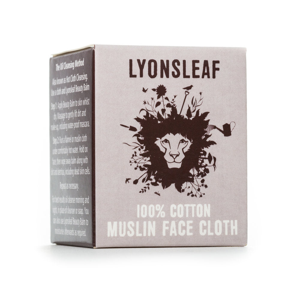 Muslin Face Cloth- Lyonsleaf