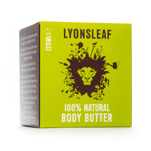 Body Butter with Organic Shea Butter, Coconut & Avocado - Lyonsleaf