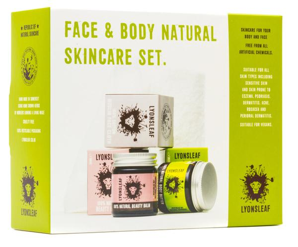 Lyonsleaf Face and Body Natural Skincare Set