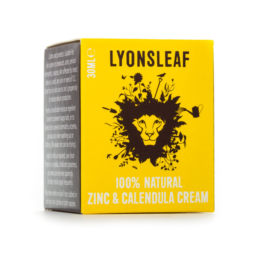 Zinc and Calendula Cream - Lyonsleaf