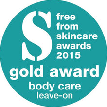 Load image into Gallery viewer, Lynosleaf Body Butter Free From Skincare Awards Silver 2015 Gold