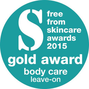 Lynosleaf Body Butter Free From Skincare Awards Silver 2015 Gold