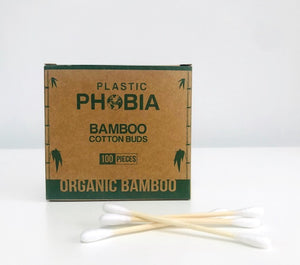 Eco Beau Organic Bamboo Cotton Buds