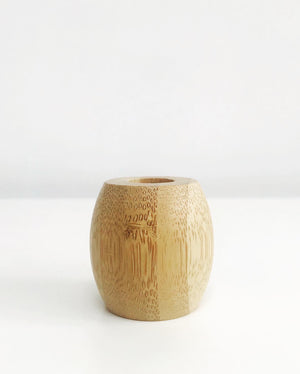 Plastic Phobia Bamboo Toothbrush Holder