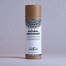 Load image into Gallery viewer, Your Nature Cedarwood and Grapefruit Natural Deodorant Stick 70g