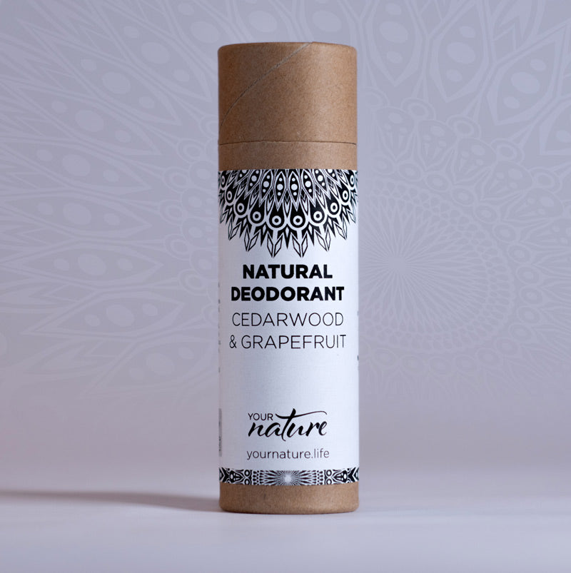 Your Nature Cedarwood and Grapefruit Natural Deodorant Stick 70g