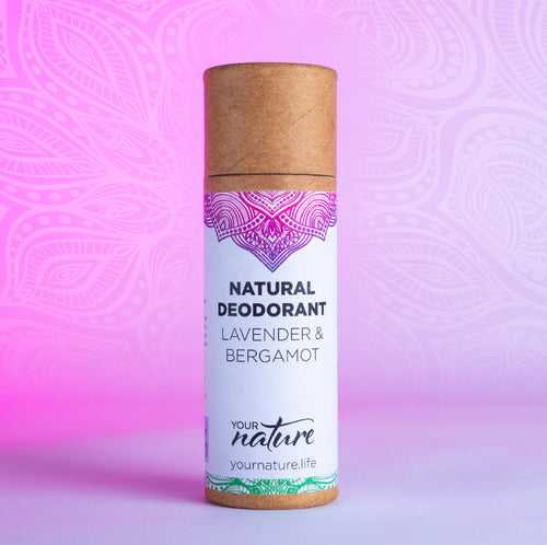 Your Nature Lavender and Bergamot Natural Deodorant Stick 70g