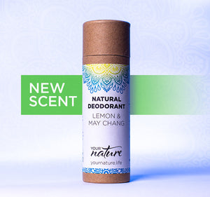 Your Nature Lemon and May Chang Natural Deodorant Stick 70g