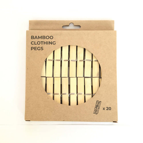 Zero Waste Club Bamboo Pegs pack of 20