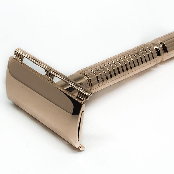 Mutiny Rose Gold Razor with 5 blades