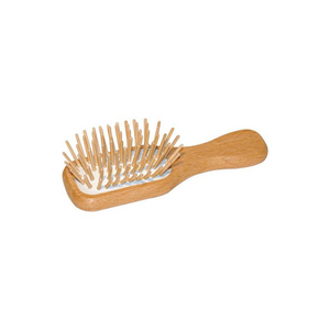 Mini Wooden Hairbrush  - Eco Living