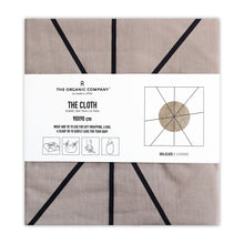 Load image into Gallery viewer, Organic Cotton Reusable Gift / Furoshiki Wrap (Jasmine) - The Organic Company packaged