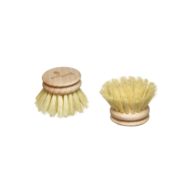 Wooden Dish Brush (Replacement Head) - Eco Living