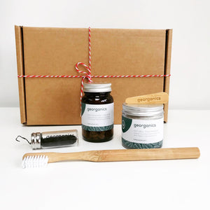 Zero Waste Dental Gift Set (Spearmint) - Eco Beau