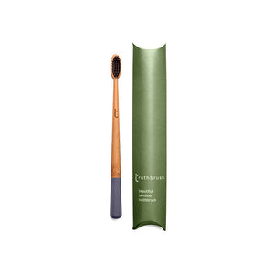 *NEW* The beautiful bamboo toothbrush - Storm Grey Medium Plant Based Bristles