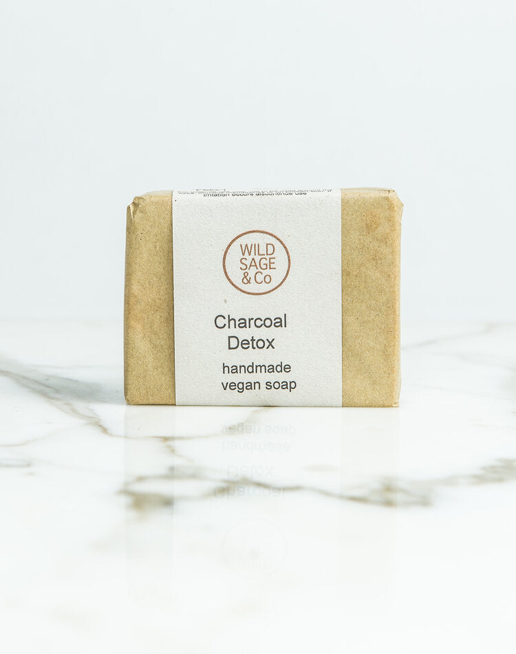 Charcoal Detox Soap 100g - Wild Sage and Co