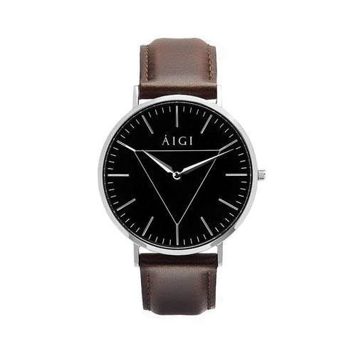 Polaris 40MM Brown Leather - AIGItime