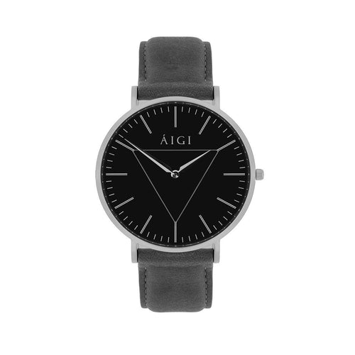 Polaris 40MM Grey Suede - AIGItime