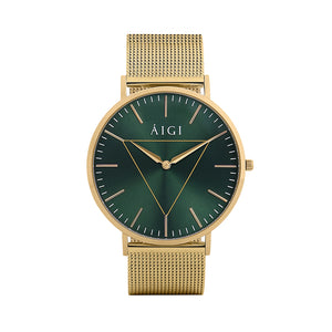 Northern Lights 40MM Gold - AIGItime