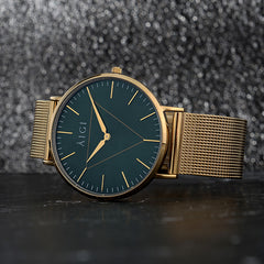 Northern Lights 40MM Gold