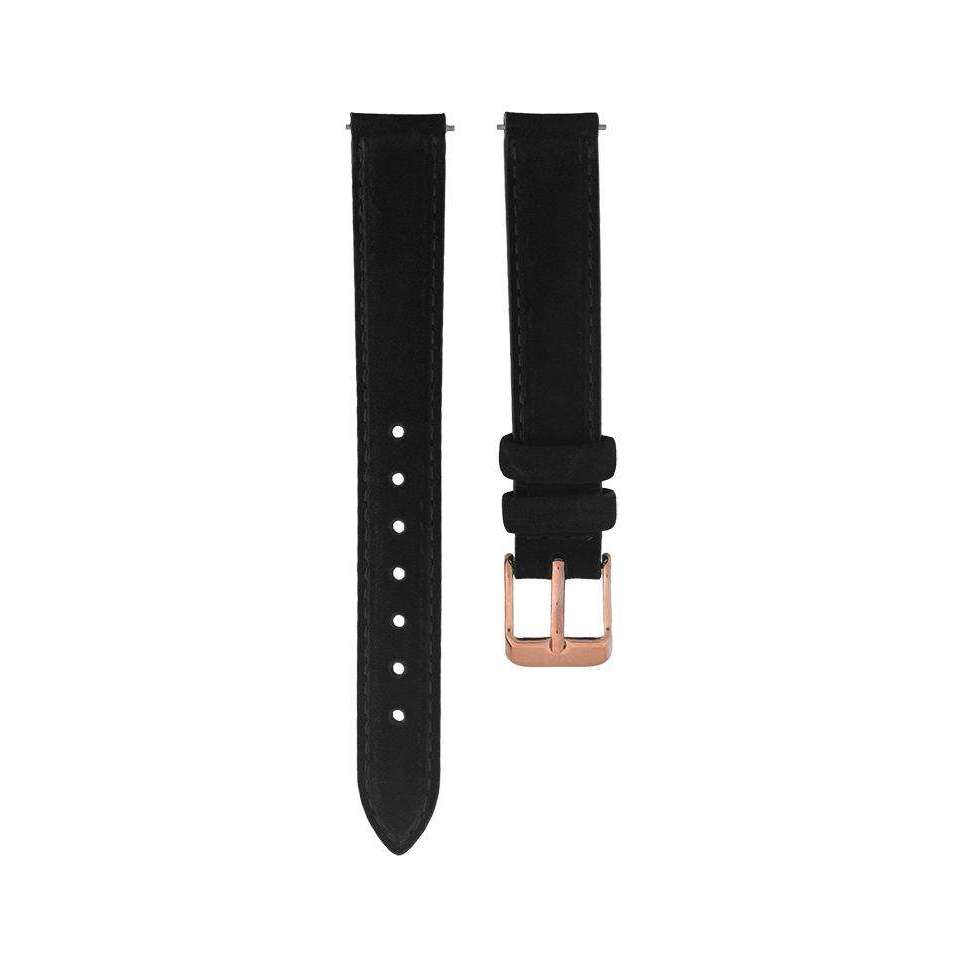 Black Suede Leather - Petite 32MM