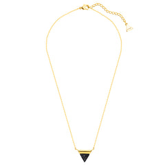 TRIANGLE | 18K GOLD PLATED