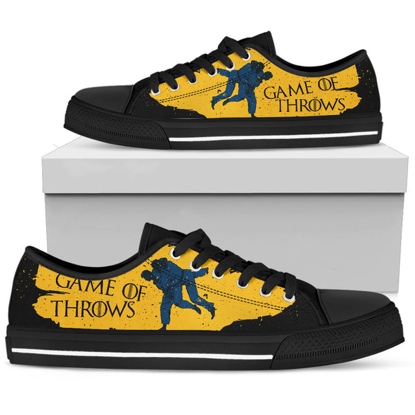 Jiu Jitsu Men's Low Top Shoes (game of throws)