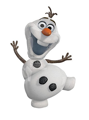 Disney Amscan Super Shape Balloon Olaf Party Accessory