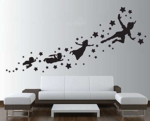 Large Peter Pan Vinyl Wall Decal Sticker