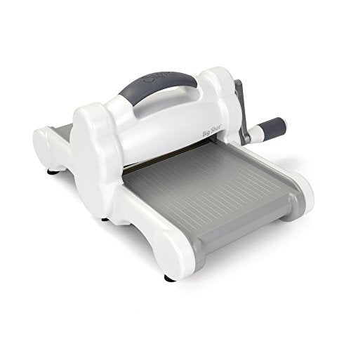 Sizzix Big Shot Machine Only by Ellison, White/Grey