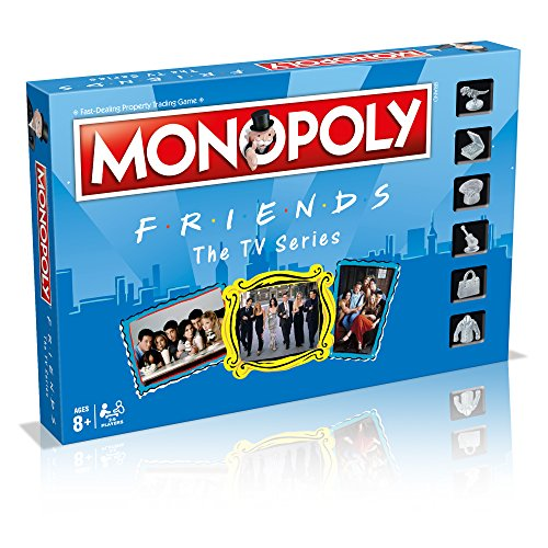 Tv Series Friends Monopoly Board Game