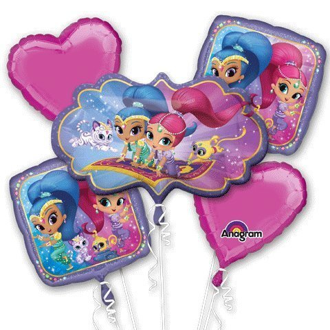 Shimmer and Shine Balloon Bouquet Foil