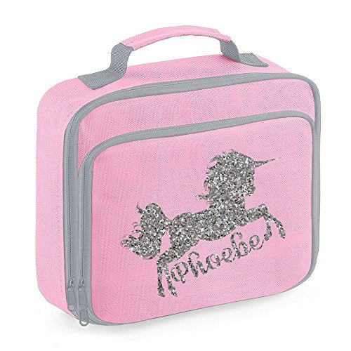 Personalised Name Unicorn Lunch Bag School Bags Boys Personalised Girls Back to School Lunch Box
