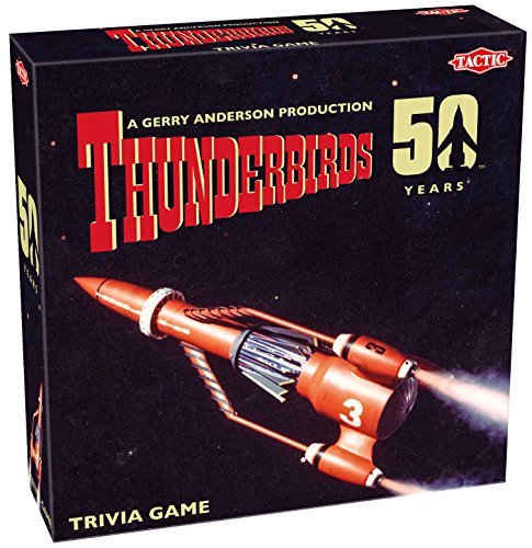 Tactic Games UK Thunderbirds Classic 50th Anniversary Trivia Board Game