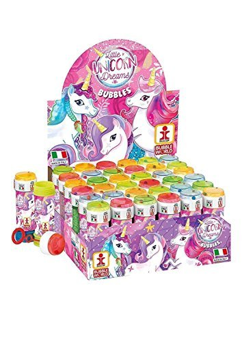 Unicorn Bubble Pots Girls Bubbles Party Bag Loot Bag (36 Pots)