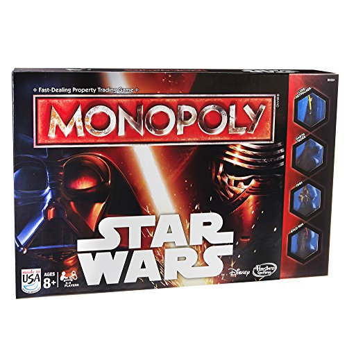 Star Wars Monopoly Game Darth Vader