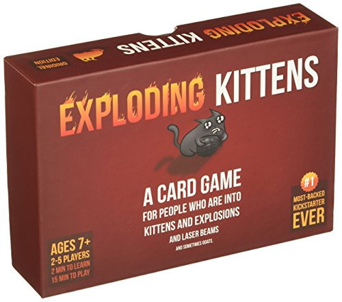 Exploding Kittens: A Card Game About Kittens and Explosions and Sometimes Goats No1 Board game-selectperfection-SelectionPerfect